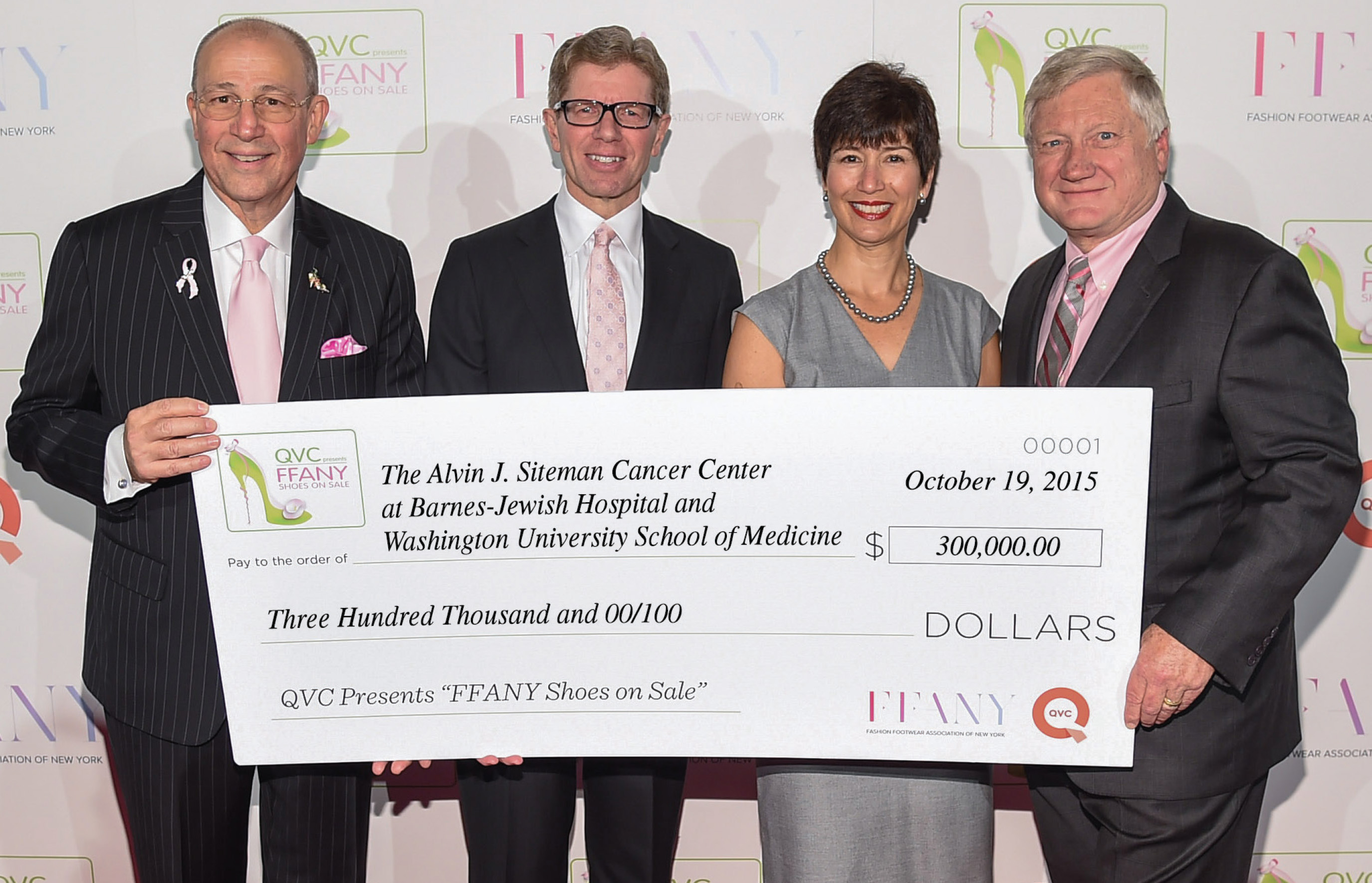 "Siteman Cancer Center benefits from QVC Presents ""FFANY Shoes on Sale"""