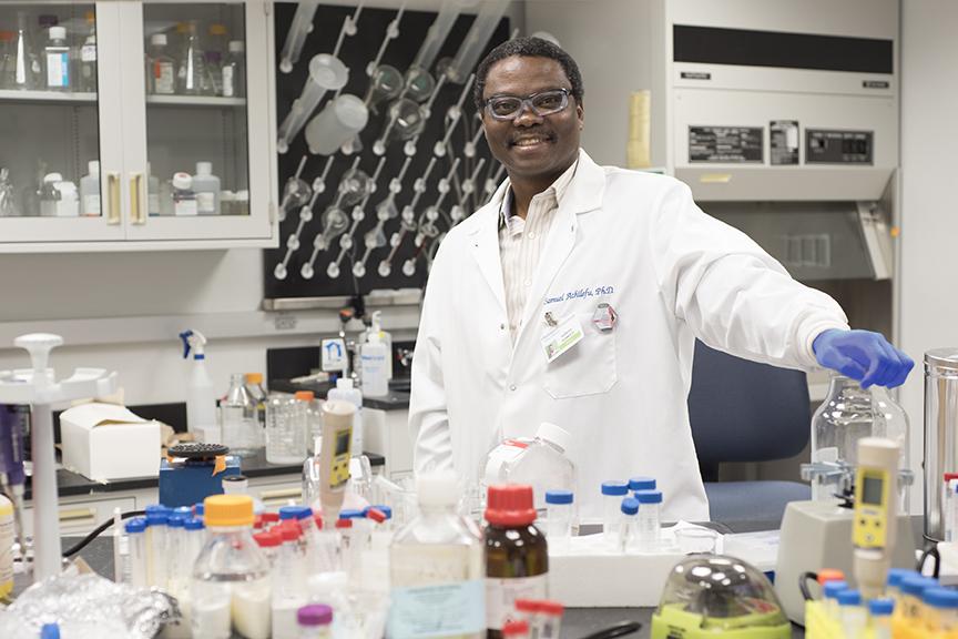 Samuel Achilefu, PhD