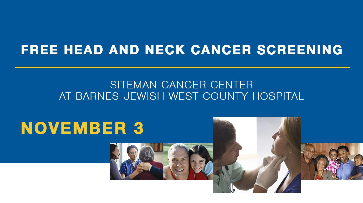 Head & Neck Screening Facebook Event West County 11318