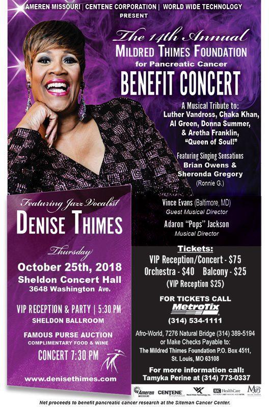 Denise Thimes benefit concert