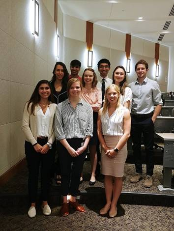 Siteman Summer Student Program Participants