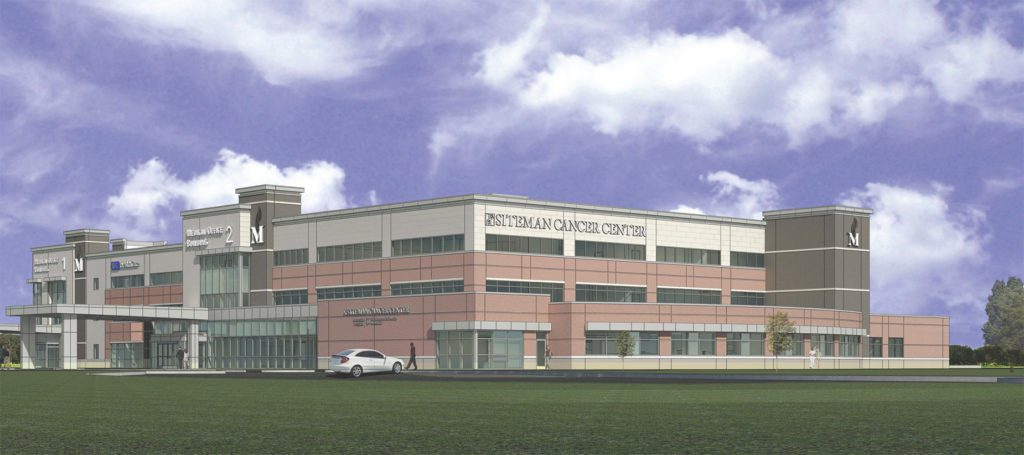 Siteman At Memorial East Exterior Rendering