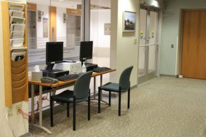 Barnard Health and Cancer Information Center Interior