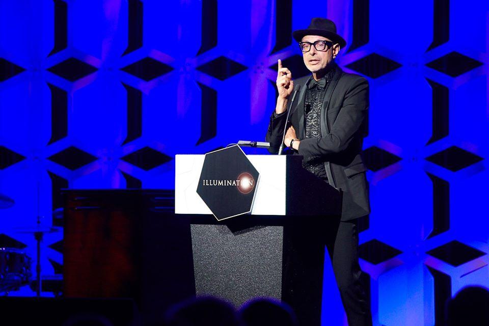Jeff Goldblum Host Of The 2019 Illumination Gala