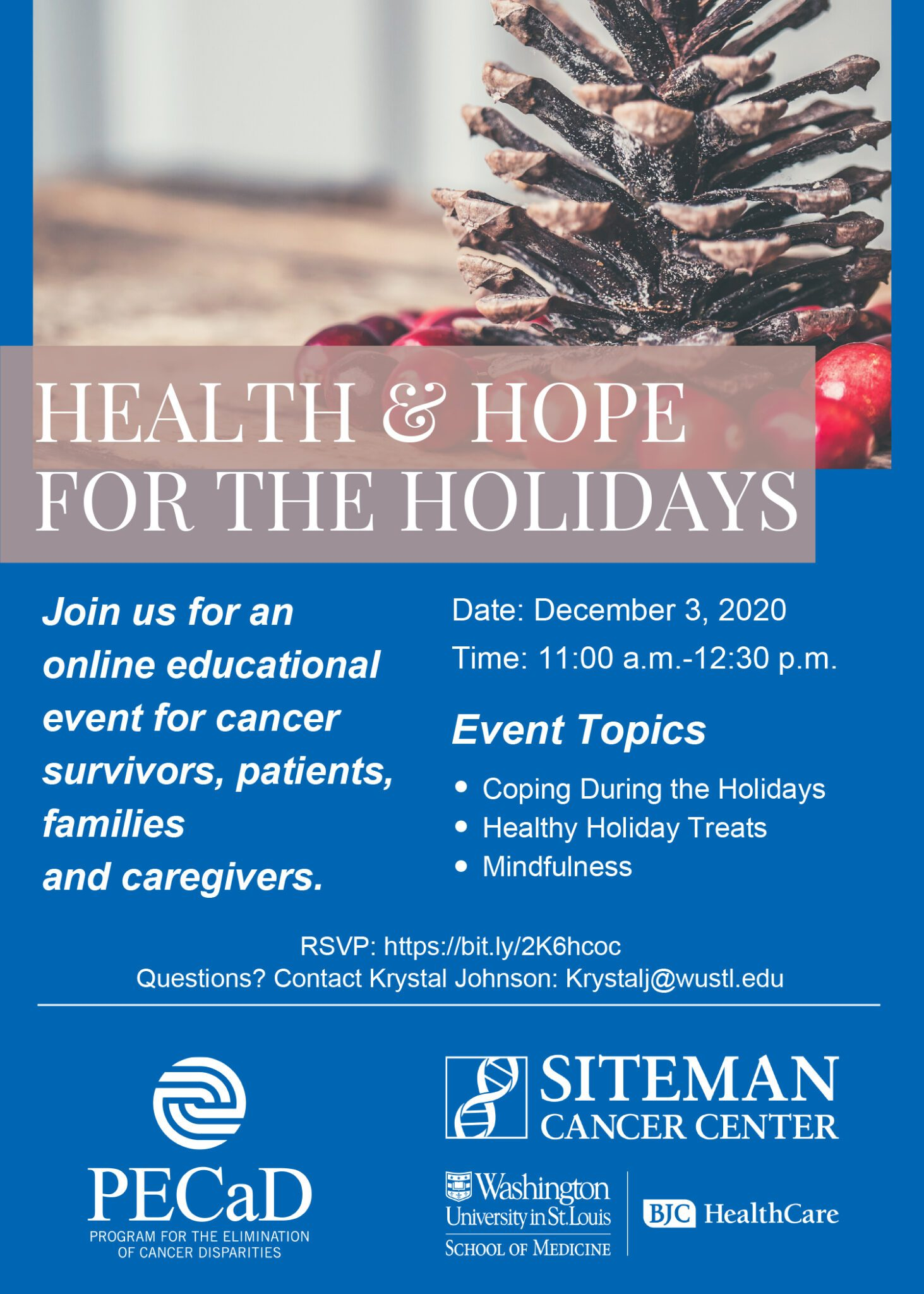 Health & Hope For The Holidays